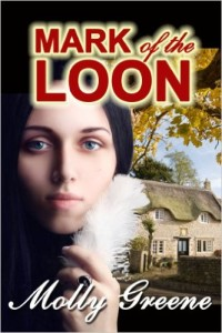 Mark of the Loon, Book 1 of 6 (so far) in Molly's Gen Delacourt Mysteries
